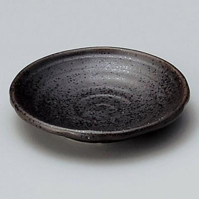 業務用食器 黒伊賀型入2.8皿 φ8.6×1.6�