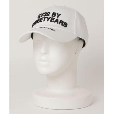 ROYAL FLASH / SY32 by SWEETYEARS /エスワイサーティトゥバイ スィートイヤーズ /TWILL CAP(LOGO) MEN 帽子 > キャップ