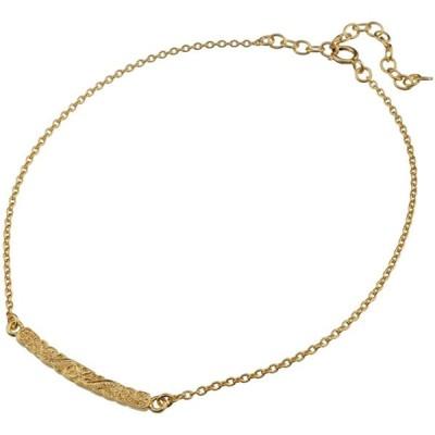 aBALENT(アバレント)ゴールド メンズ アンクレット ハワイアンジュエリー プルメリア アンクレット メンズ レディース シルバー ゴールド シ