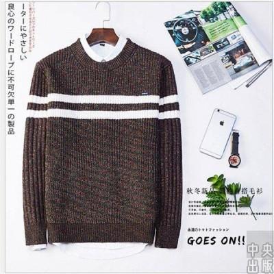 ニットセーター メンズ ニット/長袖セーター タートルネック メンズプルオーバー ゆったり/無地/リラックス/カジュアル