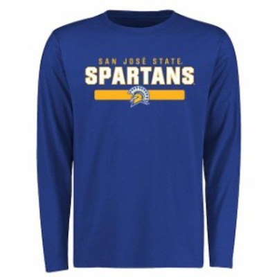 Fanatics Branded ファナティクス ブランド スポーツ用品  San Jose State Spartans Royal Team Strong Long Sleeve T-