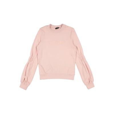 TRUSSARDI JUNIOR スウェットシャツ ピンク 4 コットン 100% スウェットシャツ