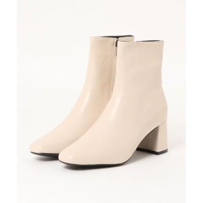 CIAOPANIC / スクエアトゥスリムショートブーツ WOMEN シューズ > ブーツ