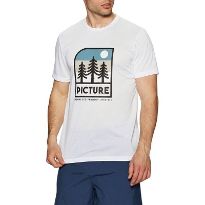 ピクチャー オーガニック Picture Organic メンズ Tシャツ トップス Timont Urban Tech Short Sleeve T-Shirt White