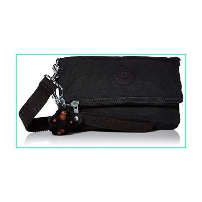 Kipling Women's Lynne 3-in-1 Convertible Crossbody Bag, True Black, One Size並行輸入品