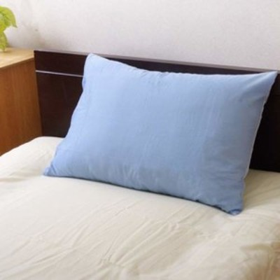 イケヒコ・コーポレーション 枕カバー ブルー 約43×63cm