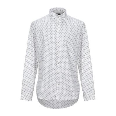 BASTONCINO シャツ ホワイト 44 コットン 100% シャツ