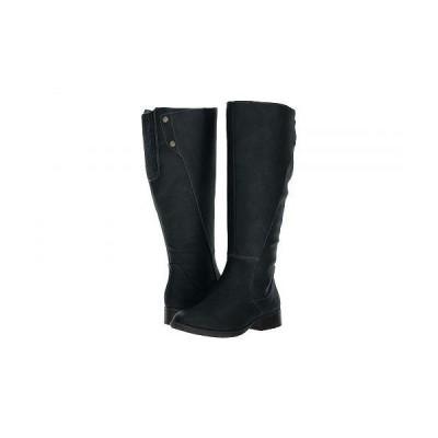 LifeStride ライフストライド レディース 女性用 シューズ 靴 ブーツ ロングブーツ Xripley - Wide Calf - Black 1