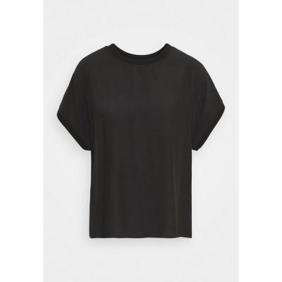 カルチャー シャツ レディース トップス JEANELLE CAPSLEEVE - Blouse - black