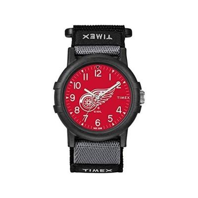 特別価格Timex ユース TWZHRDWYA NHL リクルート デトロイト レッドウィングス 腕時計好評販売中