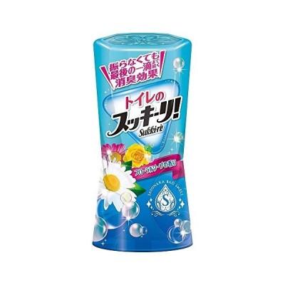 アース製薬 トイレのスッキーリSukki-ri フローラルソープの香り 400mL 317824 まとめ買い5個セット