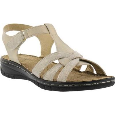 フレクサス レディース サンダル シューズ Galine Ankle Strap Wedge Sandal