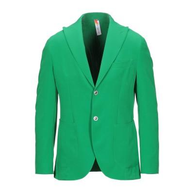 TWENTY-ONE テーラードジャケット グリーン 44 ポリエステル 89% / ポリウレタン 11% テーラードジャケット