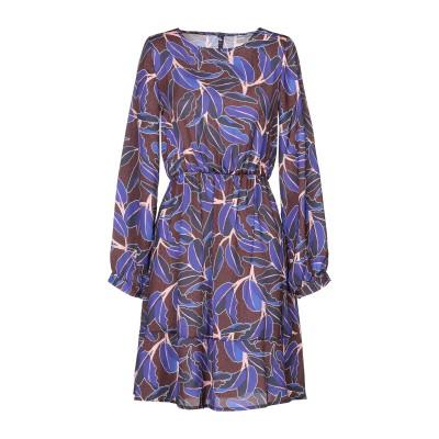 ANGELA MELE MILANO ミニワンピース&ドレス パープル XS ポリエステル 100% ミニワンピース&ドレス