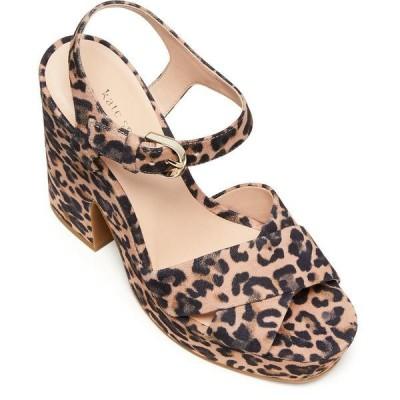 ケイト スペード サンダル シューズ レディース Grace Platform Sandals Tawny Multi