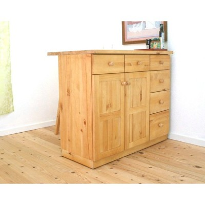 カウンターテーブル lily1058 木製取っ手 幅100cm 高さ85cmカウンター カントリー食器棚 パインカウンター カントリー収納棚
