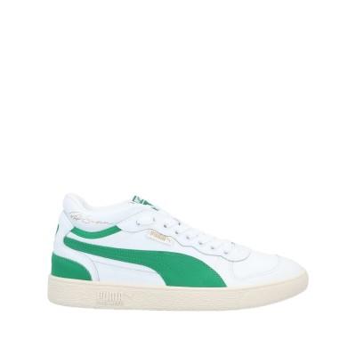 プーマ PUMA スニーカー&テニスシューズ(ローカット) ホワイト 6 革 スニーカー&テニスシューズ(ローカット)