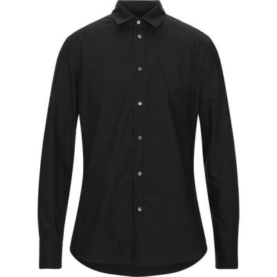 トム レベル TOM REBL メンズ シャツ トップス solid color shirt Black
