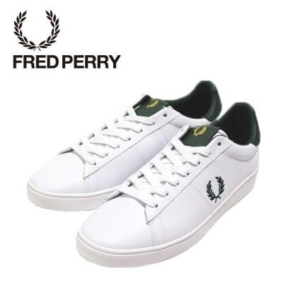 フレッドペリー スペンサーレザー 靴 メンズ B8250-WHITE