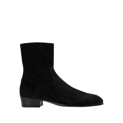 BARBANERA ブーツ ブラック 7 革 ブーツ