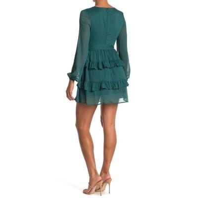ラブファイヤ レディース ワンピース トップス Tiered Mini Dress JASPER