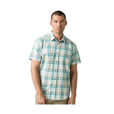 prAna メンズ ベントンシャツ US サイズ: Medium カラー: ブルー