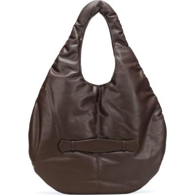 ロウ クラシック Low classic レディース ショルダーバッグ バッグ Padding Leather Shoulder Bag Brown