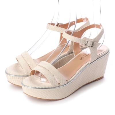 アンタイトル シューズ UNTITLED shoes サンダル (オフホワイト)