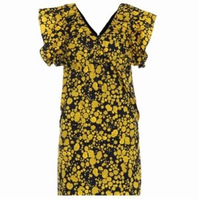 ヴィクトリア ベッカム Victoria Victoria Beckham レディース ワンピース ワンピース・ドレス floral cotton poplin minidress midnight