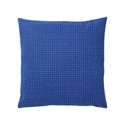 YPPERLIG クッションカバー, ブルー, 水玉模様 003.468.36