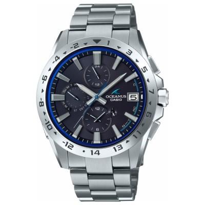 店内ポイント最大26倍!オシアナス 電波ソーラー 腕時計 メンズ クロノグラフ OCW-T3000-1AJF カシオ