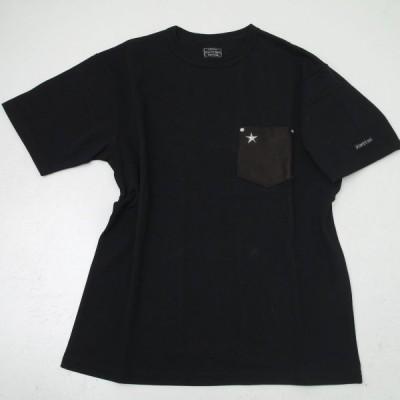 Schott ショット 3103112  ワンスター レザーポケット 半袖Tシャツ