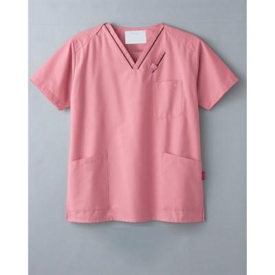 7003SC FOLK PANTONE 男女兼用スクラブ ナースウェア・白衣・介護ウェア