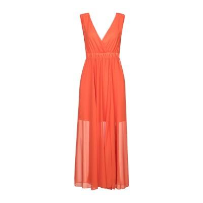 VICOLO 7分丈ワンピース・ドレス オレンジ S ポリエステル 100% 7分丈ワンピース・ドレス