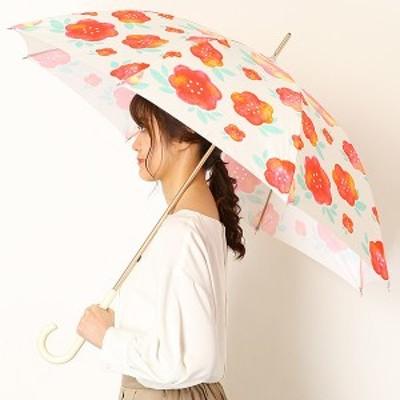 エスタ(estaa)/雨傘(長傘)【軽量/UV・晴雨兼用/グラス骨】(レディース)