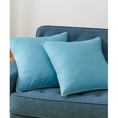 洗える!ミニワッフル生地のクッションカバー 同色2枚組 クッションカバー・座布団カバー, Cushion Covers(ニッセン、nissen)