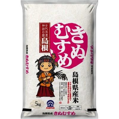 【精米】 島根県産 白米 きぬむすめ 5kg 令和2年産