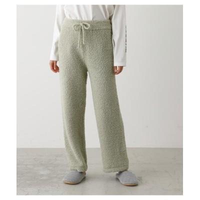 【アズールバイマウジー】 MARSHMALLOW LONG PANTS レディース L/GRN1 FREE AZUL BY MOUSSY