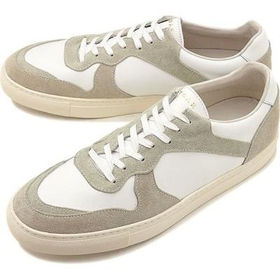 ヨーク YOAK メンズ ユリス ULYSE レザースニーカー 日本製 靴 WHITE ホワイト系   SS19