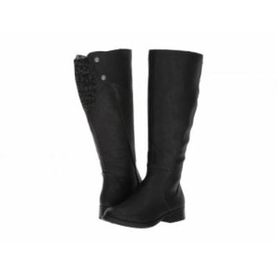 LifeStride ライフストライド レディース 女性用 シューズ 靴 ブーツ ロングブーツ Xripley Wide Calf Black【送料無料】
