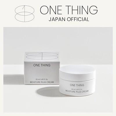 ONE THING 日本公式MOISTURE PLUS CREAM