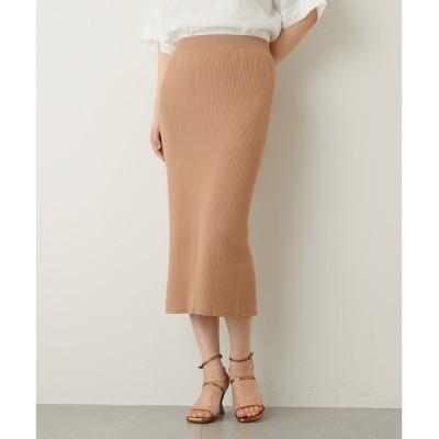 【ウィム ガゼット/Whim Gazette】 リブタイトスカート