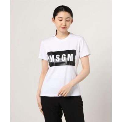 tシャツ Tシャツ MSGM(エムエスジーエム)BOXロゴTシャツ