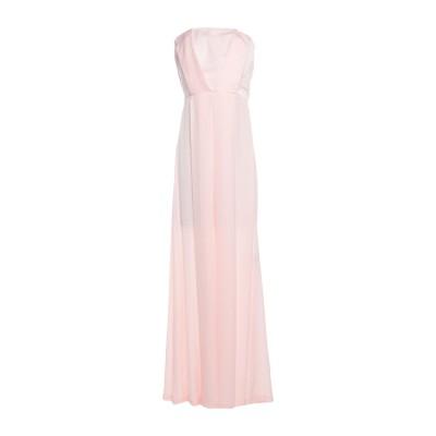 アンナリータ エンネ ANNARITA N ロングワンピース&ドレス ピンク 44 ポリエステル 100% ロングワンピース&ドレス