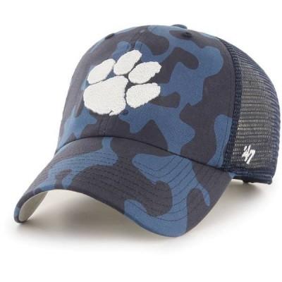 フォーティーセブン メンズ 帽子 アクセサリー '47 Men's Clemson Tigers Grey OHT Covert Clean Up Adjustable Hat