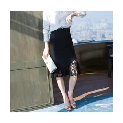スカート スーツ スカート 単品 オフィス 黒スカート タイトスカート ビジネス スーツ 膝下 ロングスカート かわ大