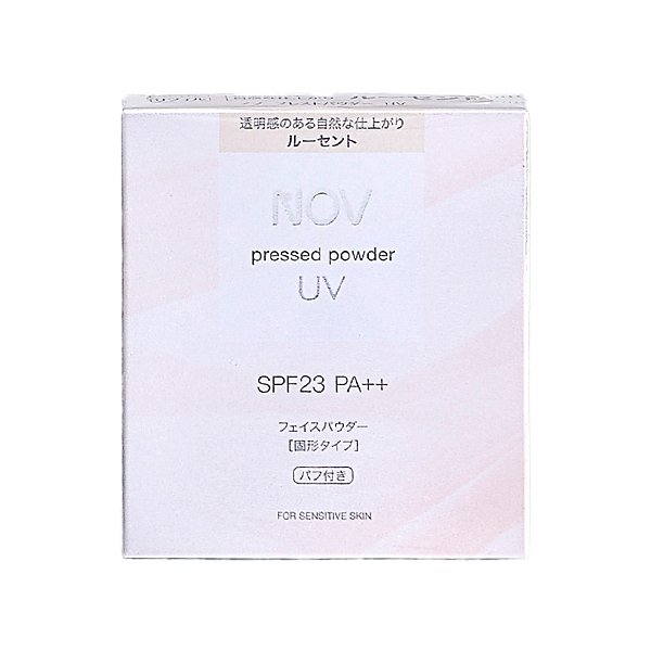 NOV 娜芙 防曬蜜粉(透明色)10g(SPF23) 補充芯(不含盒)【小三美日】