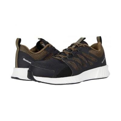 Reebok Work リーボック メンズ 男性用 シューズ 靴 スニーカー 運動靴 Fusion Flexweave Cage Composite Toe - Brown