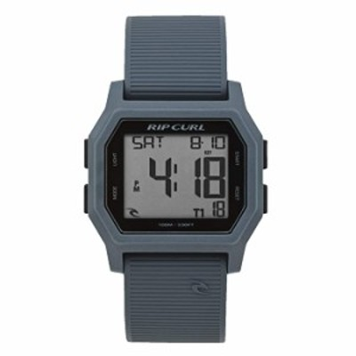 Rip Curl Atom Digital Steel Grey Men's Watch A2701-GRY