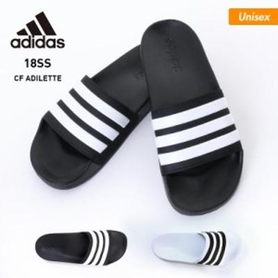 【最大1000円オフ券配布中】 adidas/アディダス メンズ&レディース ロッカー サンダル CF_ADILETTE クッション さんだる シャワーサンダ